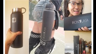 Iron Flask Insulated Water Bottle Unboxing + Review