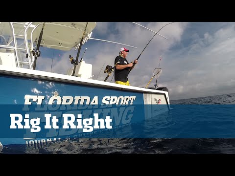 Florida Sport Fishing TV - Rigging Station Kite Fishing Rigging Tips