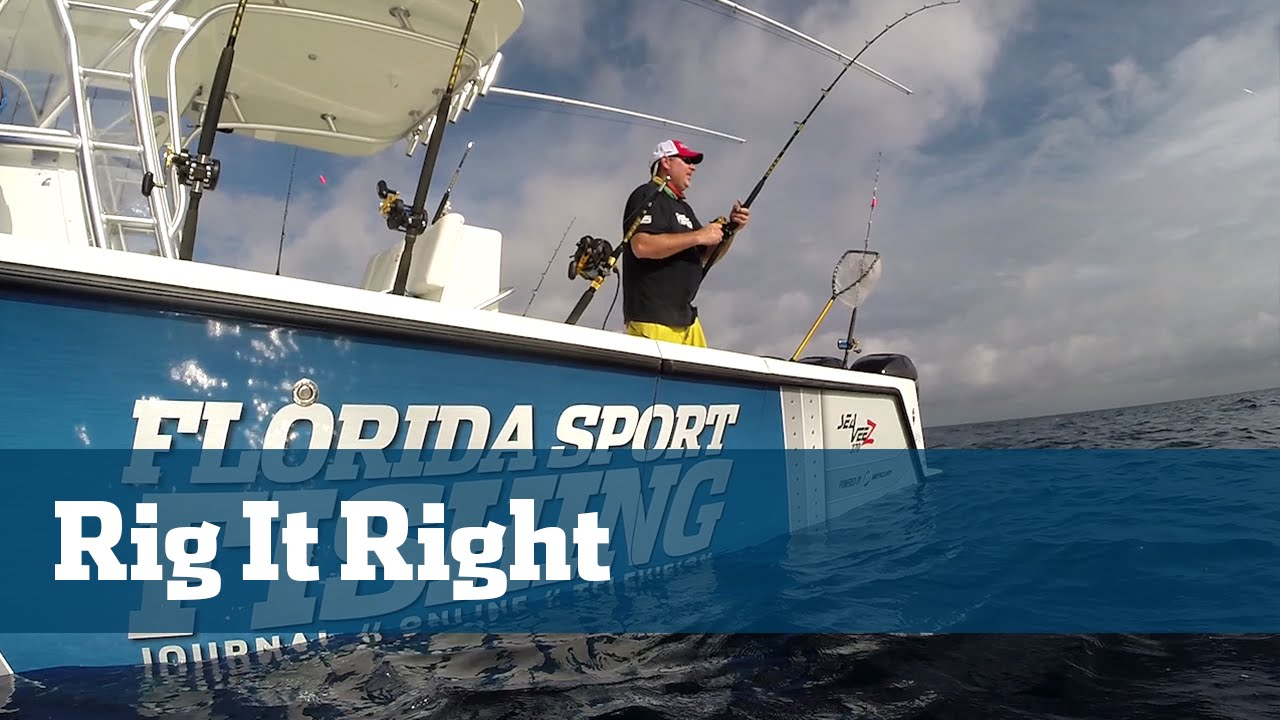 Florida sport fishing tv rigging station kite fishing for Florida sport fishing