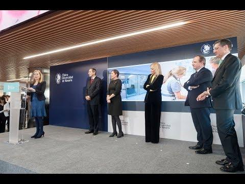 Acto completo inauguración sede de Madrid Clínica Universidad de Navarra