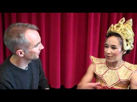 2010 Crewe Aladdin - Neil Bull interviews Ayesha Gwilt