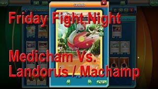 Friday Fight Night Ep. 11 (Medicham Vs. Landorus / Machamp) + Free Hidden Pokémon Code