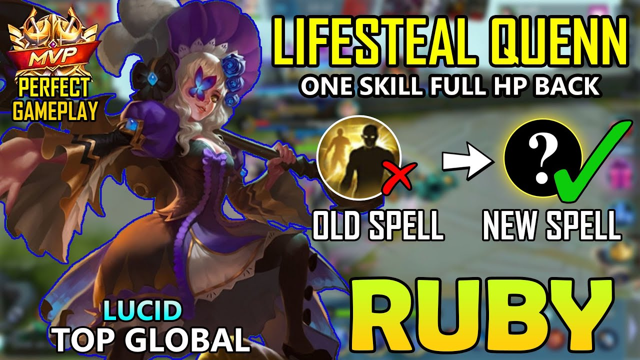 NEW SPELL??RUBY  BEST BUILD 2020 - TOP  GLOBAL RUBY S17 2020