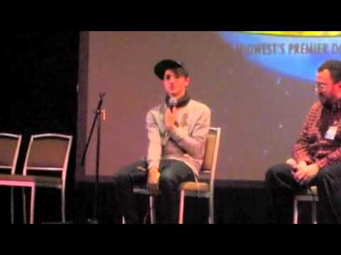 Tommy Knight talks about being covered in goo