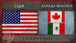 США vs КАНАДА, МЕКСИКА - Сравнение армий [2018]
