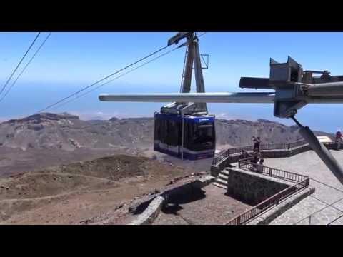 Cable Car Teleferico del Teide - Tenerife [4K UHD]