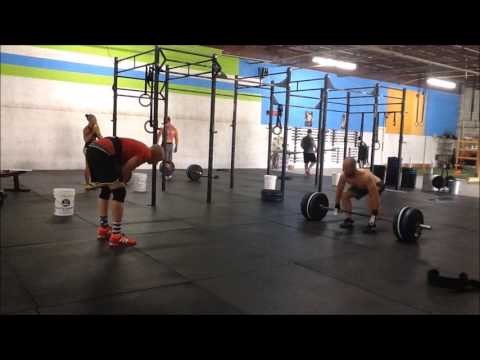 CrossFit Equity: AMRAP to C&J with Sync Bar MU