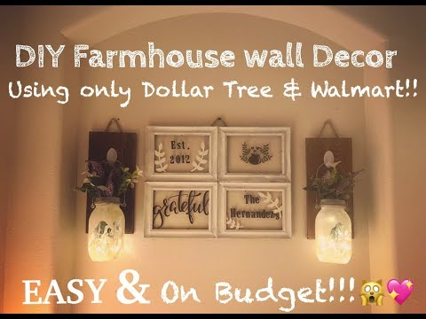 Farmhouse DIY Wall Decor!!