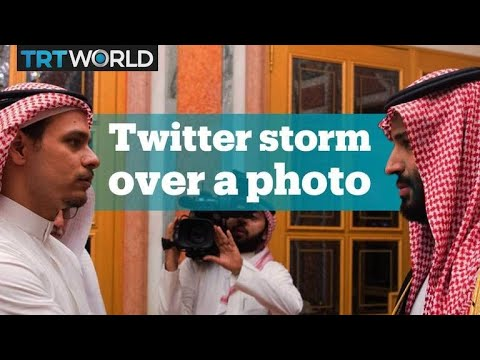 Twitter storm after Khashoggi's son meets MBS