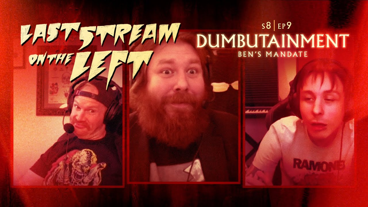 Last Stream On The Left S8 Ep9 Dumbutainment Adult Swim Youtube Marcus parks is just trying to podcast and research. last stream on the left s8 ep9 dumbutainment adult swim