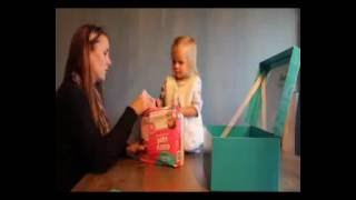 Pampers Easy Ups Unboxing with my Toddler daughter!