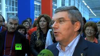 Президент МОК: политическим акциям не место на Олимпиаде
