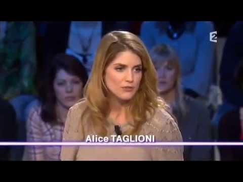 Alice Taglioni  On n'est pas couché 12 avril 2008 ONPC