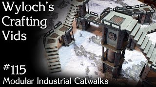 How to Scratch-Build Sector Mechanicus Walkways for Warhammer 40k, Kill Team