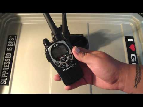 Midland GXT1000V4 Radios Walky Talky Hand Held Review and Thoughts
