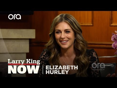 Elizabeth Hurley on playing the Queen in