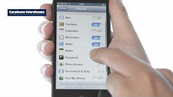 Apple iPhone 5: Transfer data from your old iPhone from Carphone Warehouse
