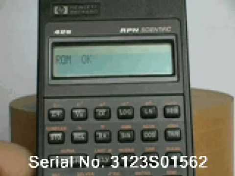 Hp42s manual array hp 42s self test verification youtube rh youtube fandeluxe Choice Image