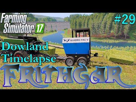 FS17 Timelapse, Dowland Farm Seasons #29 Early Summer Hay!