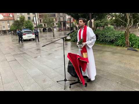 Pontevedra no se olvida de la Bendición de Ramos