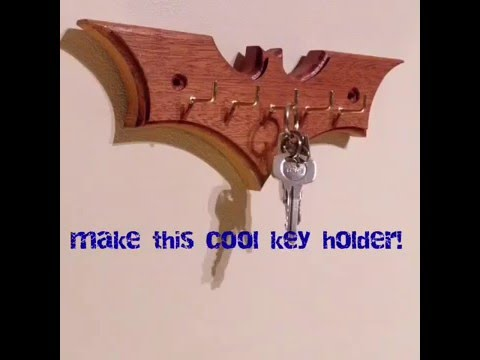 How To Make This Cool Key Holder Woodworking Project Youtube