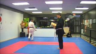 Yellow Belt Test for Tae Kwon Do