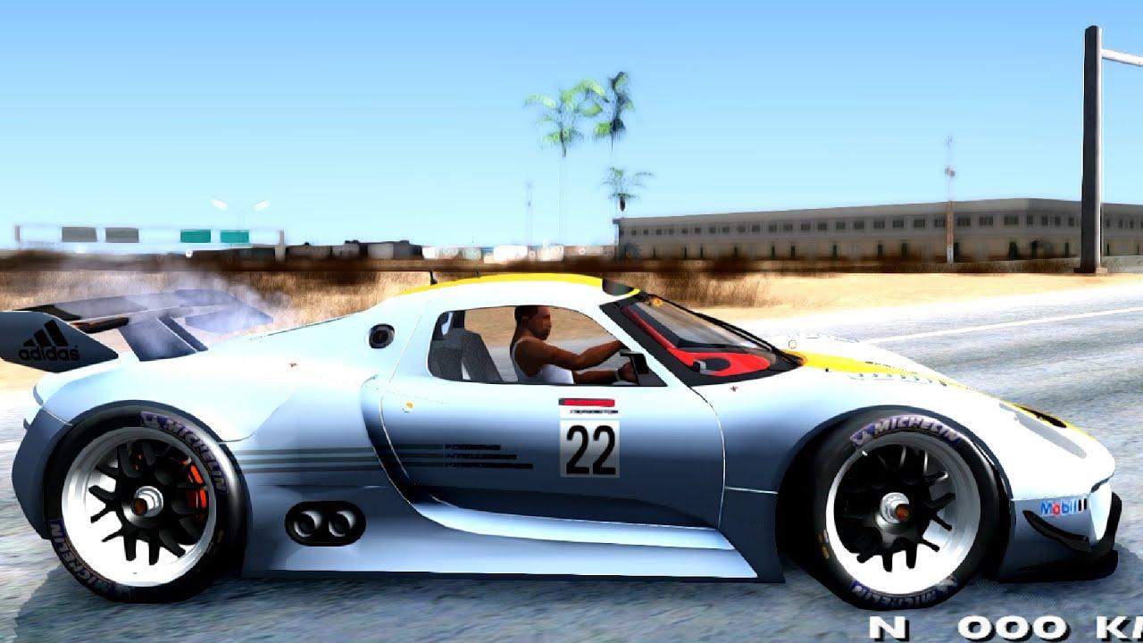 porsche 918 rsr gta san andreas - Porsche 918 Rsr Wallpaper
