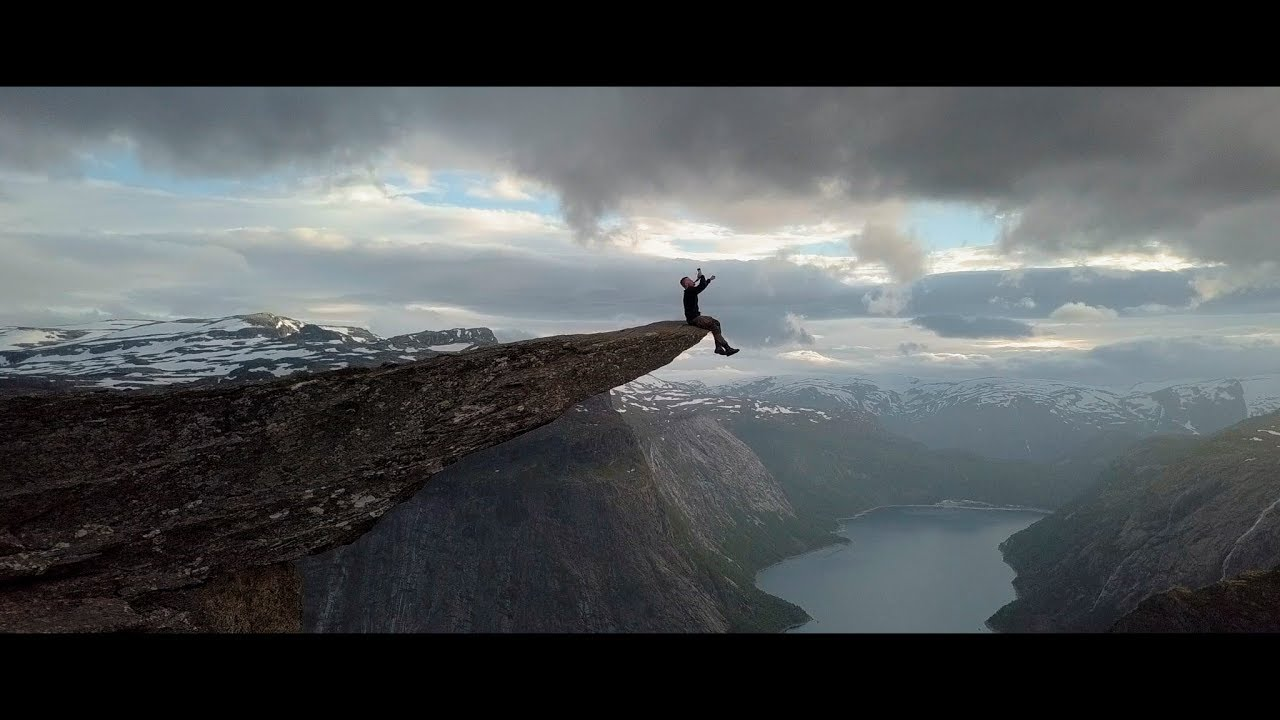 Trolltunga 2017, Epic droneshots.  Norway 4K