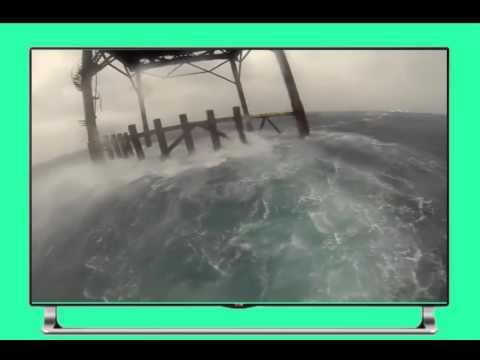 Hurricane Arthur at The Frying Pan Tower Adventure