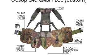 SPARK AIRSOFT: British Army Custom Dragon PLCE Webbing system review (Обзор)