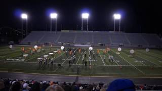 MN Tiger Band: Final performance at Cavalcade Championship at Hershey PA