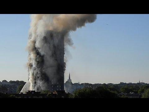 Többen meghaltak a londoni épülettűzben
