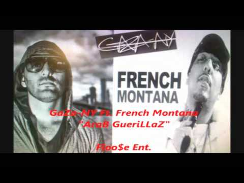 Gaza NY Feat French Montana : Arab Guerillaz (Drop 4 DJ Samy on HIT RADIO)