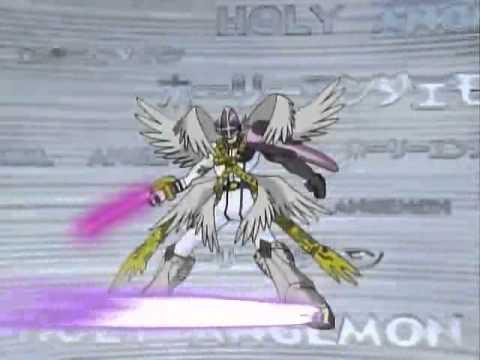 angemon quotchou shinkaquot holyangemon youtube