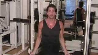 Brad Pitts Trainer Gregory Joujon-Roche Shows A Great Shoulder Exercise