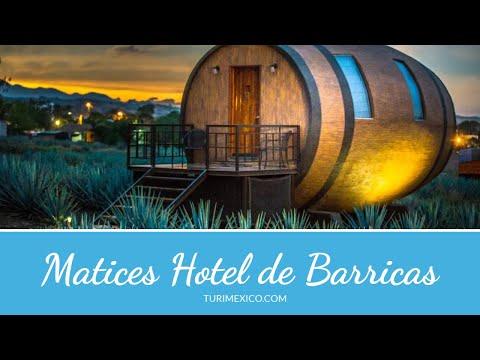 Matices Hotel de Barricas en Tequila.