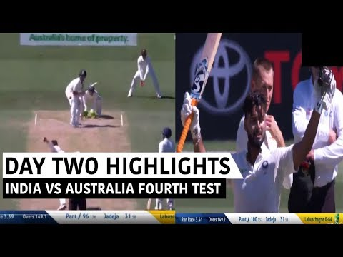 India Vs Australia 4th Test 2nd Day Full Match Highlights |FOURTH DOMAIN TEST HIGHLIGHTS