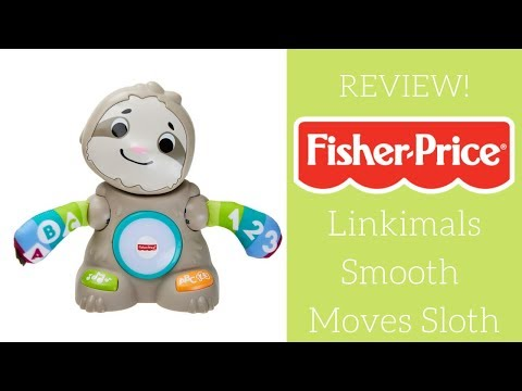REVIEW!  Fisher-Price Linkimals Smooth Moves Sloth