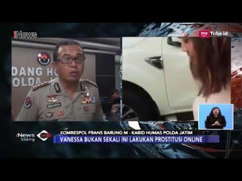 Kombespol Frans Ungkap Vanessa Angel Berpotensi jadi Tersangka Prostitusi Online - iNews Siang 11/01