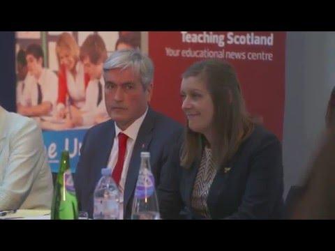 Teaching Scotland and SEJ Education Hustings 2016