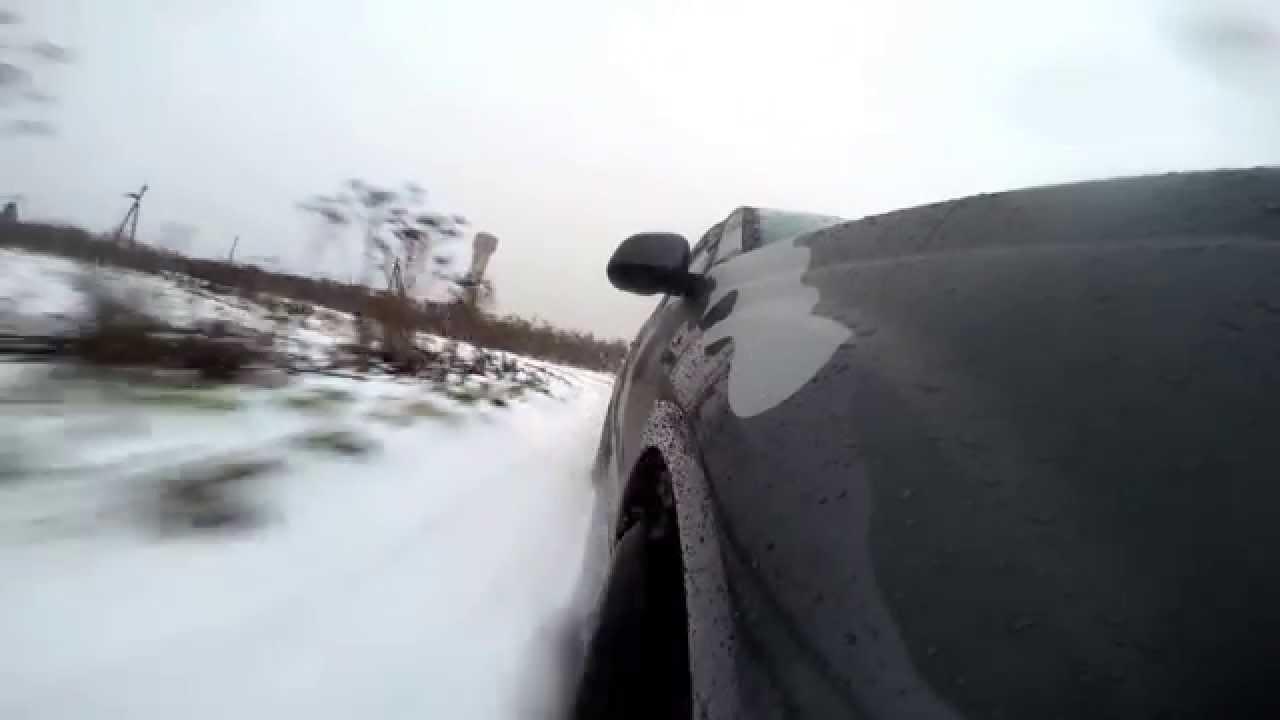 Mitsubishi Outlander XL Urban TANK 3.0 V6 Snow GoPro on Board