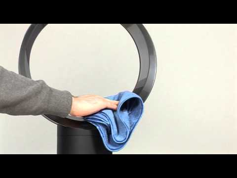 How to clean your Dyson Cool fan (Official Dyson video)