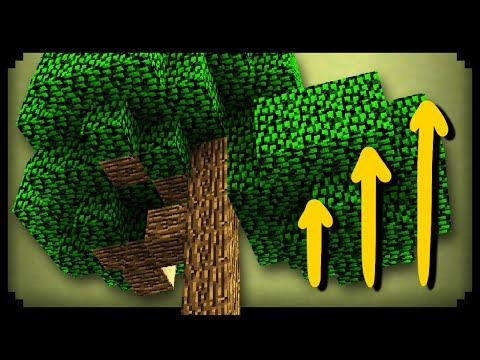 ✔ Minecraft: How to Grow Big Trees