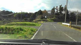 氏家とダムで別れた武市半平太が、神里村へ帰る時に通ったであろう道を...