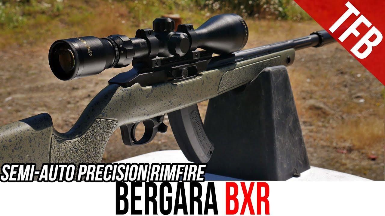 Semi-Auto Precision Rimfire? The Bergara BXR 10/22 Clone