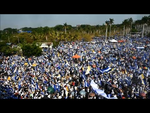 Open air mass in Nicaragua to demand an end to violence