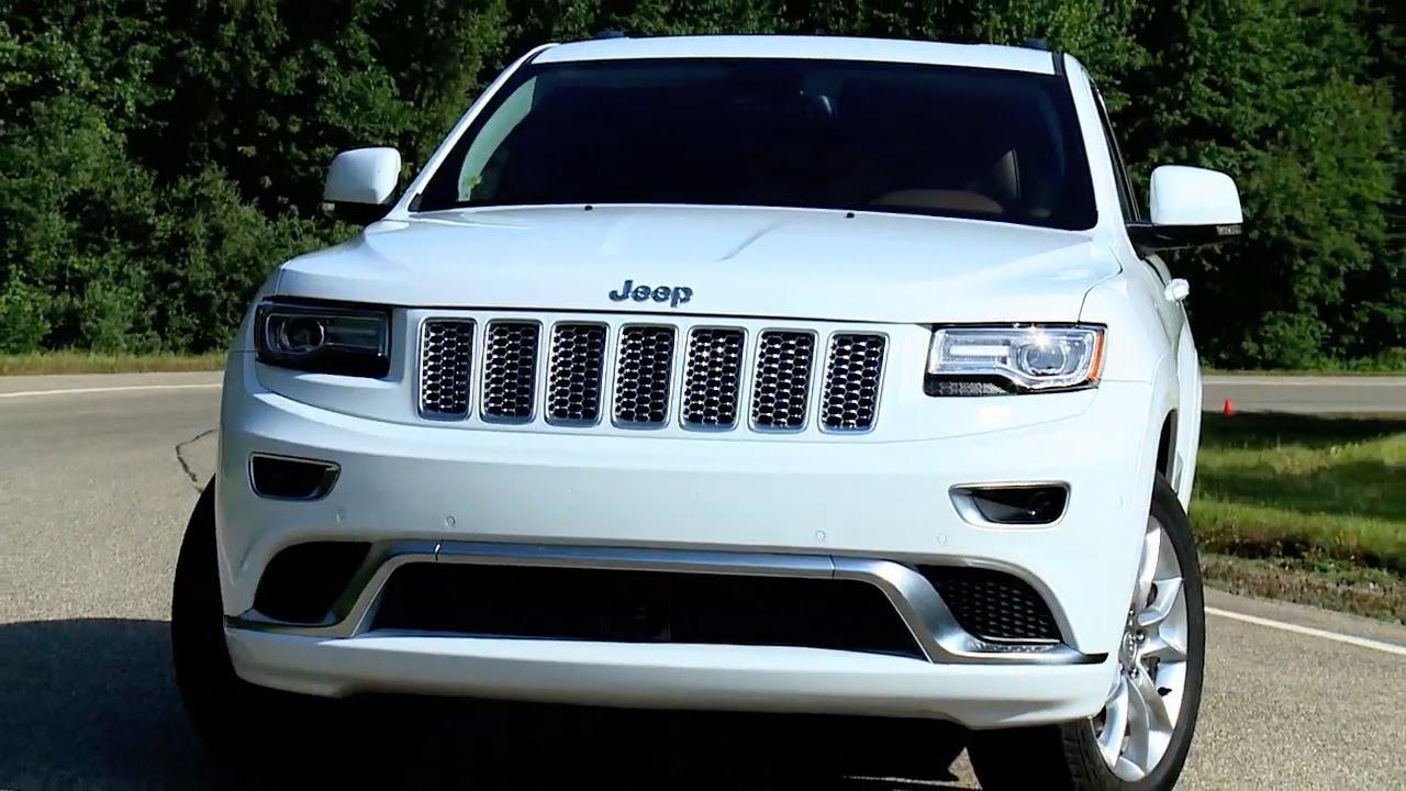 2017 Grand Cherokee Srt Interior >> 2015 Jeep Grand Cherokee Summit California edition - YouTube