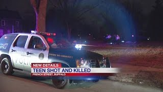 Teen fatally shot on French Street