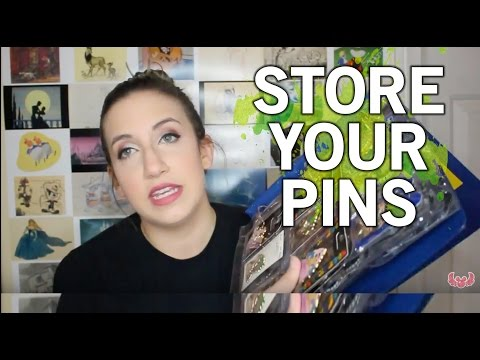 How to Store Your Pins!