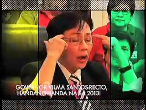 Ang Latest Updated! - Jan 12, 2013: Interview with Gov. Vilma Santos